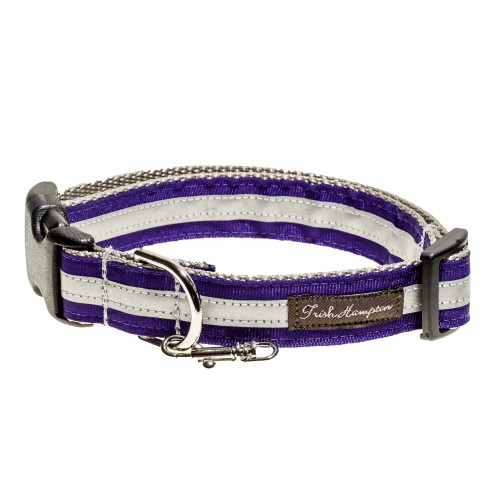 Safe and Beautiful Purple Reflective Collar Collection