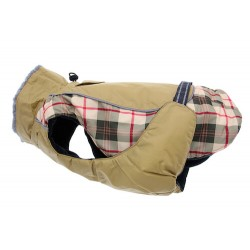 Alpine All Weather Coat Beige Plaid