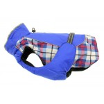 Alpine All Weather Coat Royal Blue Plaid