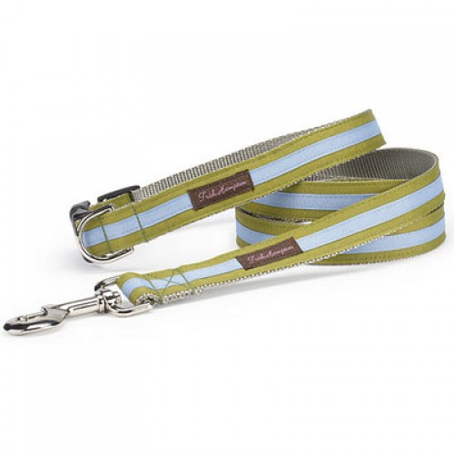 Sage and Periwinkle Stripe Collar Collection