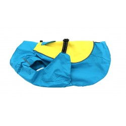 Teal and Yellow Raincoat Body Wrap