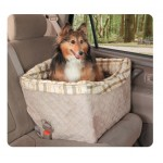 Deluxe On-Seat Pet Booster for Dogs up to 30 lbs