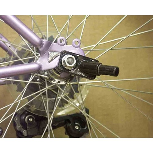 Extra Bicycle Hitch for Houndabout II Track'r dog Bike Trailers