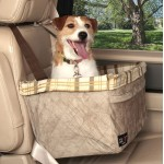 Extra Large Deluxe Pet Car Booster Seat for pets up to 25lbs