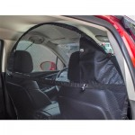 """Pet Net Vehicle Safety Barrier For Suv / Car / Truck / Van - Fits Behind Front Seats 51"""" W"""