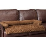 Solvit Sta-Put™ Cocoa Bolstered Couch Pet Cover