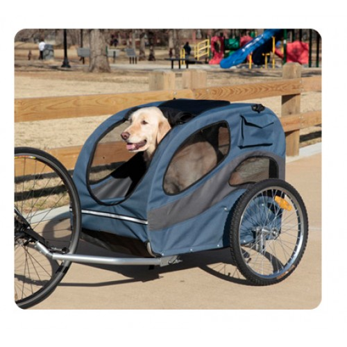 Track'r Houndabout II Large Aluminum Bicycle Trailer