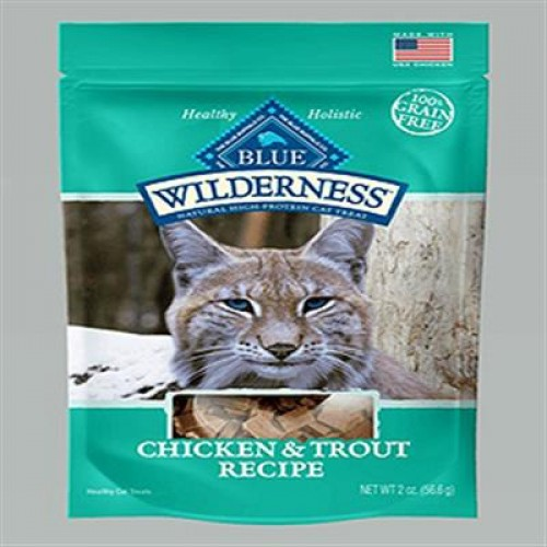 Blue Buffalo Cat Wilderness Gf Chicken Trout 2 Oz