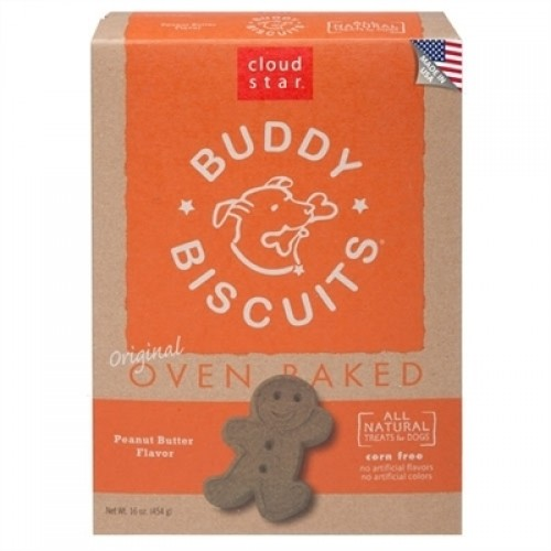 Cloud Star Buddy Biscuits Peanut Butter 16oz