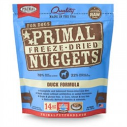Primal Pet Foods Freeze Dried Food For Dogs 14 oz - Duck