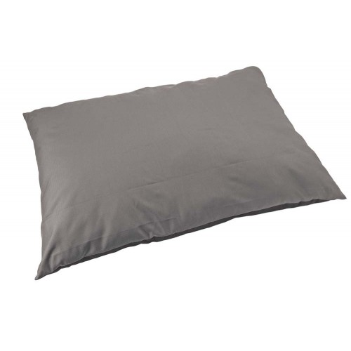 Sleep Zone Water Resistant Pillow Dog Bed -Gray