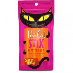 Tiki Pets Cat Stix Mousse Chicken 3 Oz.(Case Of: 12)
