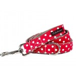 Precious Red and White Dots Collar Collection